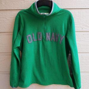 Old navy quarter zip fleece pullover  size large